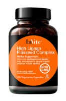 High Lignan Flaxseed Complex, hair vitamins