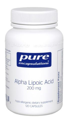 Alpha-Lipoic Acid 200MG, 120CP