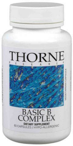 Thorne Vitamins Basic B Complex, 60 Caps