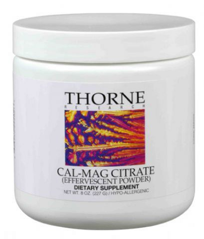 Thorne Vitamins CAL/MAG Citrate Efferves., 8oz