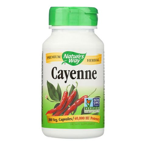 Cayenne Pepper, 100 Caps