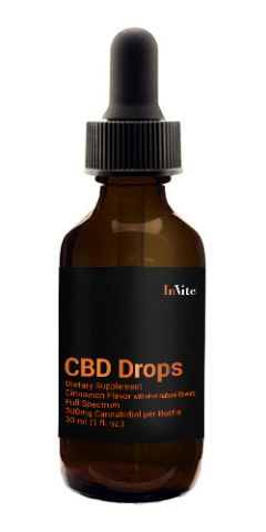 Hemp Cinnamon Drops 300mg