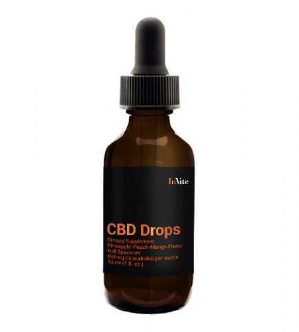 CBD Pine/Peach/Mango Drops 600mg