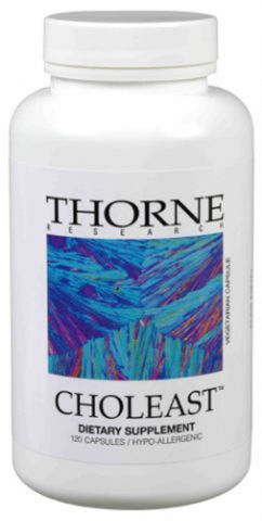 Thorne Vitamins Choleast Capsules