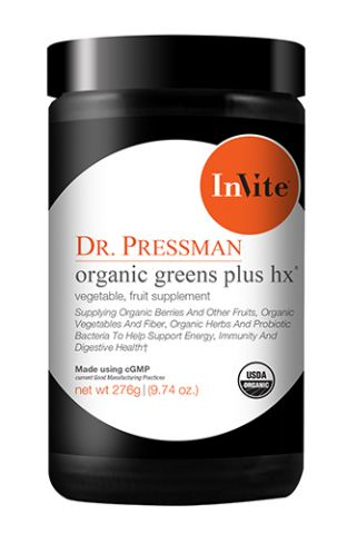 Organic Greens Plus Hx - Vegetable Fruit Supplement