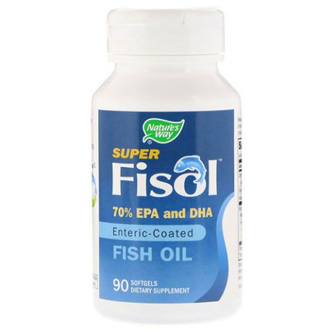 Fisol Fish Oil 500MG, 90 Gels
