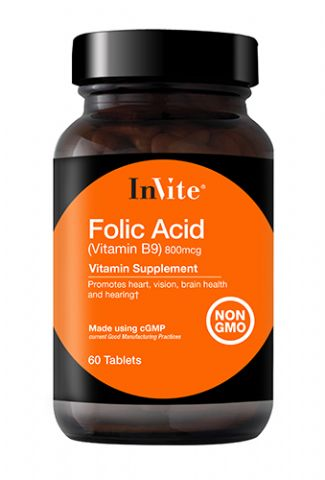 Folic Acid (Vitamin B9) 800mcg