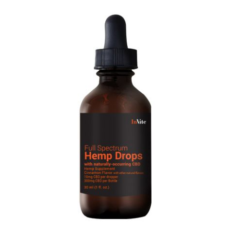 Hemp Cinnamon Drops 500mg