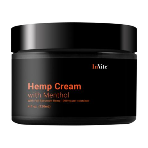 Soothing Hemp Cream with Menthol 1000mg