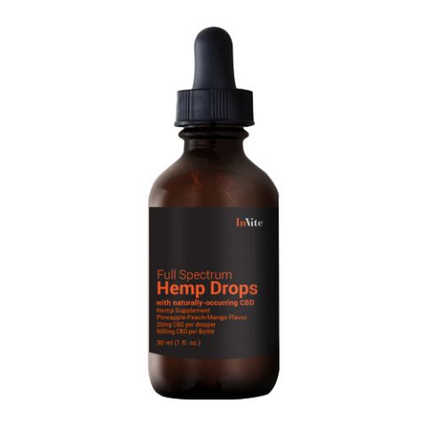 Hemp Pine/Peach/Mango Drops 1000mg