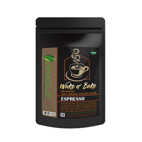 Miracle Organic Ground Coffee, Espresso