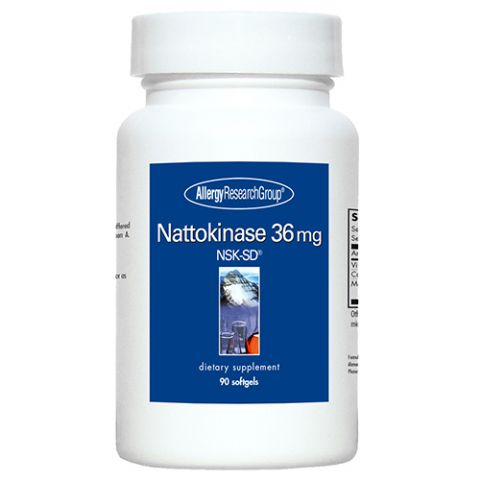 Nattokinase (36MG), 90 Softgels