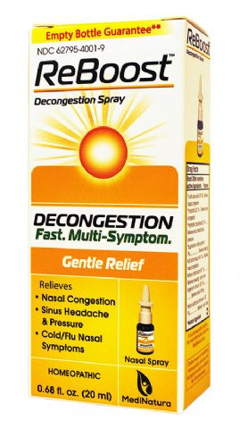 ReBoost™ Decongestion Spray