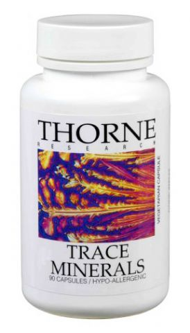 Thorne Vitamins Trace Mineral Supplements