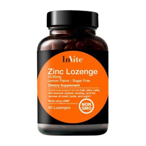 Zinc Supplements Zinc Lozenges Invite Health
